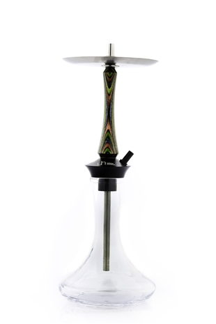 UNION HOOKAH SLEEK GREEN NARGILE TAKIMI